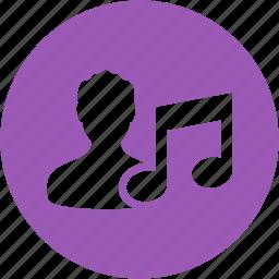 compose, composer, man, media, music, musical, person icon