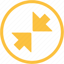 arrow, arrows, expand, minimize, zoom, zoom in icon
