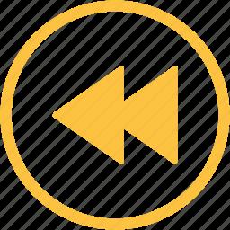arrows, audio, film, movie, play, player, video icon