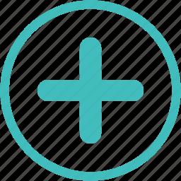 add, create, new, plus, tick icon