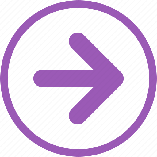 arrow, arrow right, creative, move, next icon