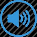 audio, sound, volume, loud, note, social, speaker