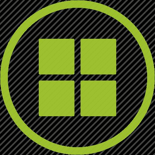 apps, creative, grid, interface, list, menu, options icon