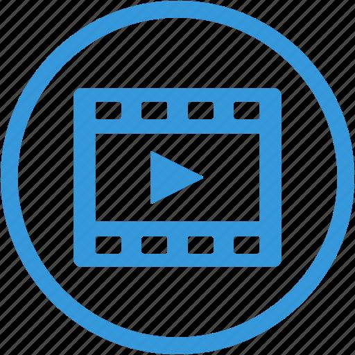 camera, cinema, clip, film, movie, player, video icon