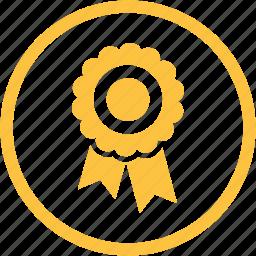 achievement, award, bookmark, favorite, label, prize, tag icon