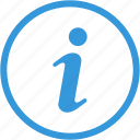 about, creative, help, i sign, info, information, support icon