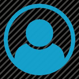 account, contact, person, profile, representation, user icon