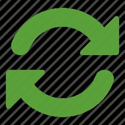 arrows, circular arrows, refresh, refresh page, refreshing, rotating icon