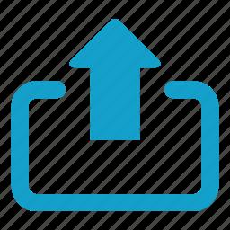 arrow, file upload, up arrow, upload, uploading, view icon