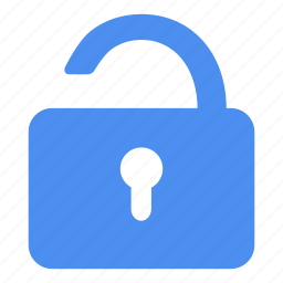 allow, free, hotwire, let go, protection, unlock, unsecure icon