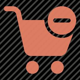 add, buy, cancel, cart, minus, shopping cart icon