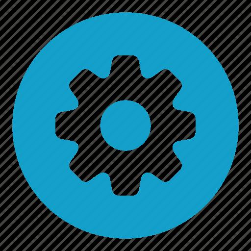 cog, cogwheel, configuration, gear, option, setting icon