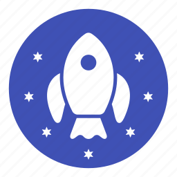 astronaut, astronomy, engine, propell, rocket, rocket ship, space icon