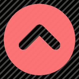 arrows, direction, multimedia option, orientation, up arrow icon
