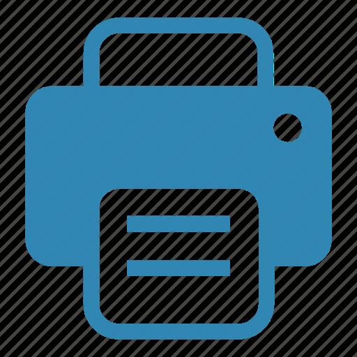 copier, duplicate, fax, output, photocopier, printer, scanner icon