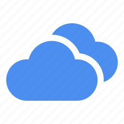 cloud, clouds, cloudy, in sky, sky, storage, thunder icon