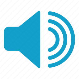 big, expanding, high volume, music player, sound, speaker, volume icon