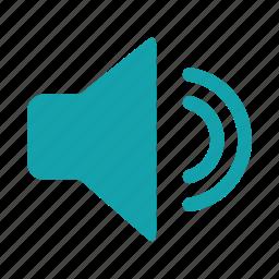 audio, decrease, low volume, music player, sound, speaker, whisper icon