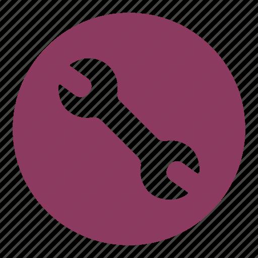 engineer, equipment, maintenance, repair, service, worker, wrench icon