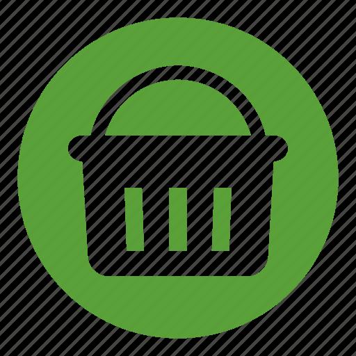 basket, buy, commerce, ecommerce, hold, shopping icon