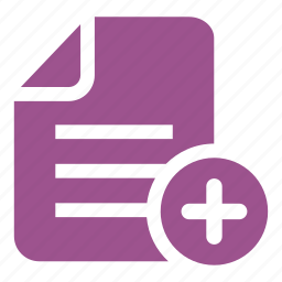 add, choose, compile, document, file, file add, plus icon