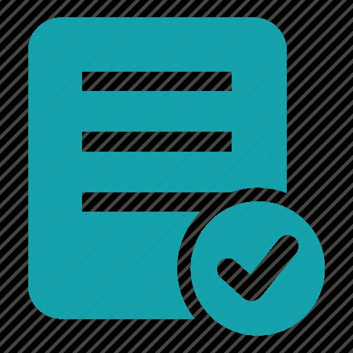 checking, checklist, choice, listindicate, menu, verification, verify icon