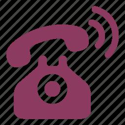 old telephone ringing, phone call, telephone, telephone call, vintage icon