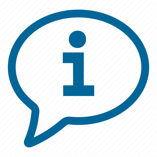 chat, conversation, info, speech bubble, talking, typing icon