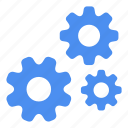 cogwheels, configuration, gears, serious, settings gears, wheels icon