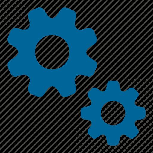 cogwheels, configuration, gears, prongs, settings, settings gears, teeth icon