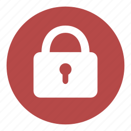 door, lock, locked, padlock, password, protection, shut down icon