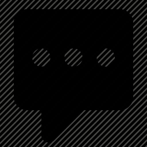 bubble, chat, comments, conversation, speech, talk icon