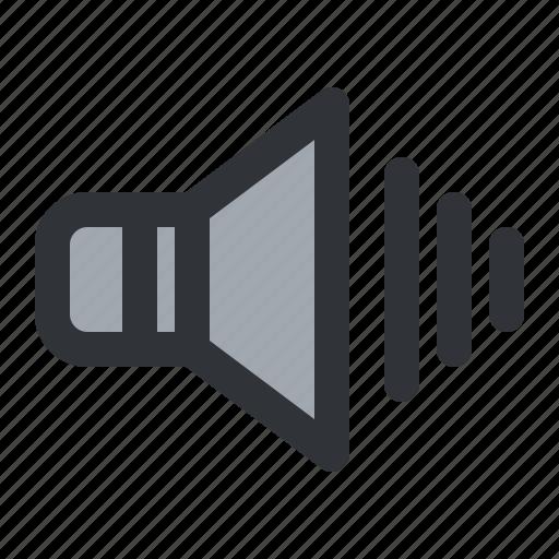 Sound, speaker, volume icon - Download on Iconfinder