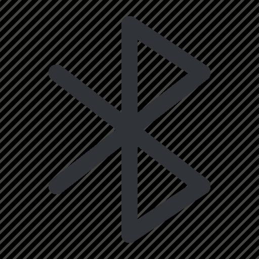 bluetooth, communication icon