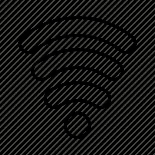 servics, signal, wifi icon
