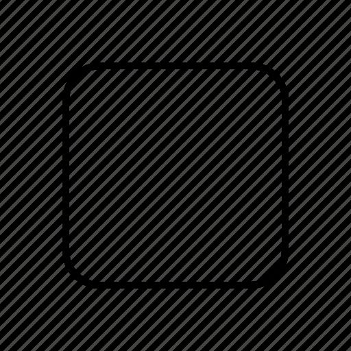 box, check, unchecked icon