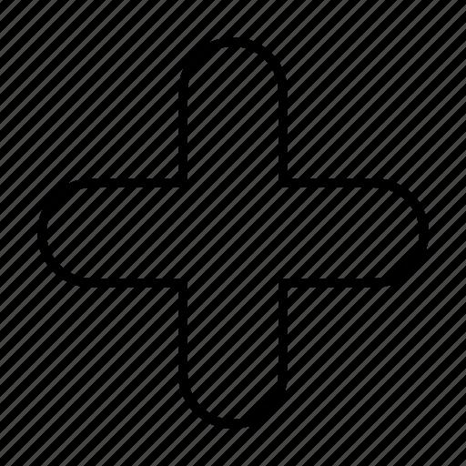 add, new, plus, sign icon
