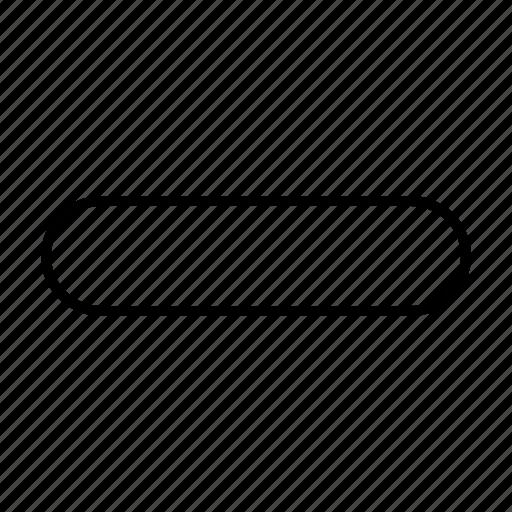 Delete, less, minus, remove icon - Download on Iconfinder