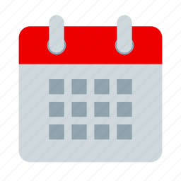 calendar, calender, date, event, month, schedule icon
