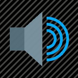 audio, music, sound, speaker, volume icon
