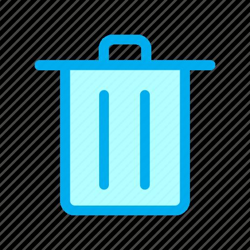 bin, interface, trash, ui, user icon