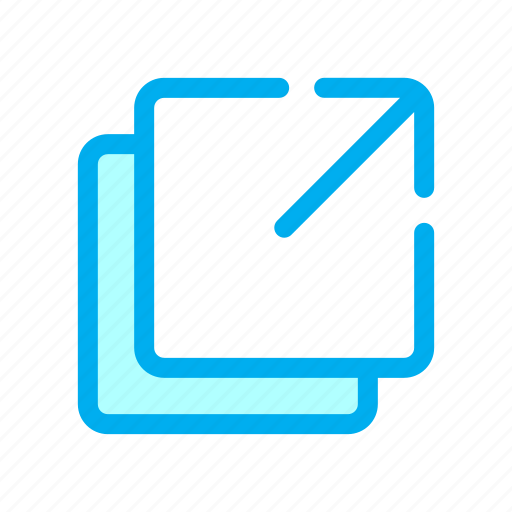 interface, screen, share, ui, user icon