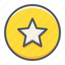 rating, star, favorite, like