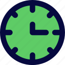 clock, interfaces, time icon