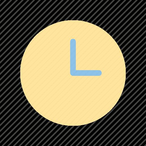 clock, interface, time, ui, user icon