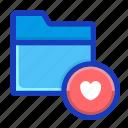 archive, draft, favourite, folder, hearth, interface, love icon
