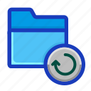 archive, backup, draft, folder, interface, recycle, restore icon