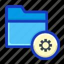 archive, draft, folder, interface, preference, setting, setup icon