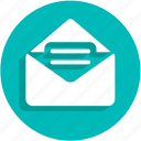 email, envelope, letter, message, send, text, ui icon