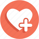 add, heart, like, plus, ui icon